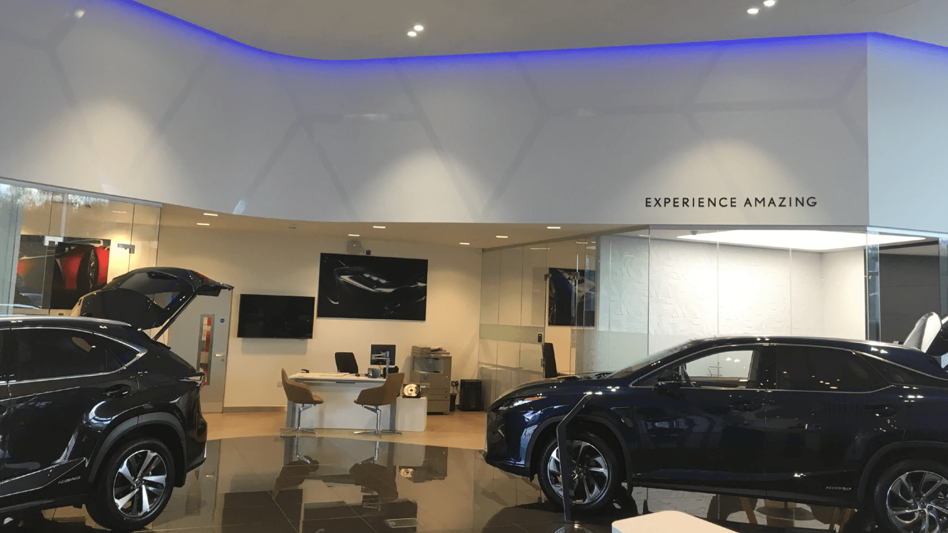 Lexus dealership branding