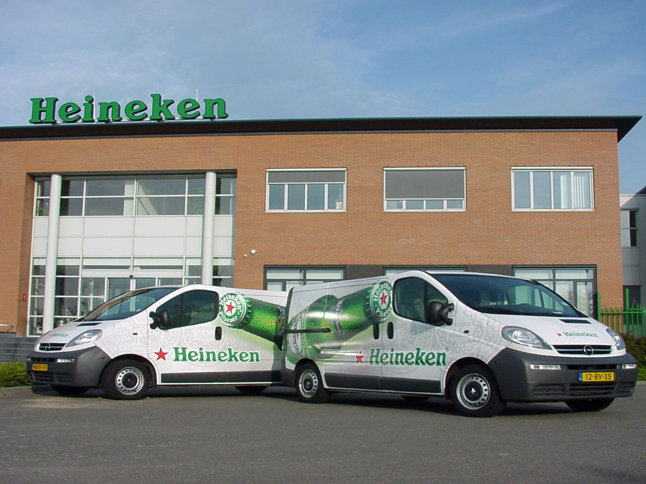 Heineken brand implementation