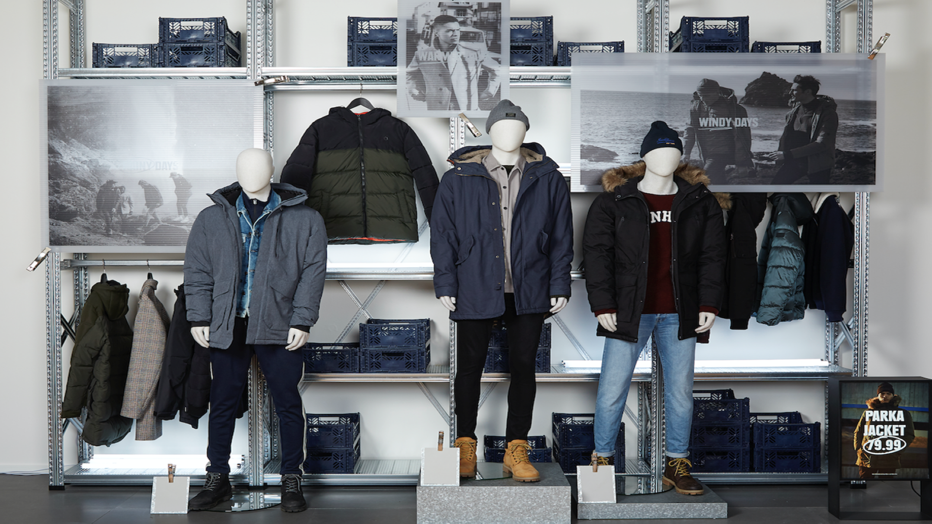 Jack & Jones rebrand implementation