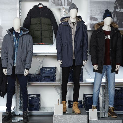 Jack & Jones brand implementation