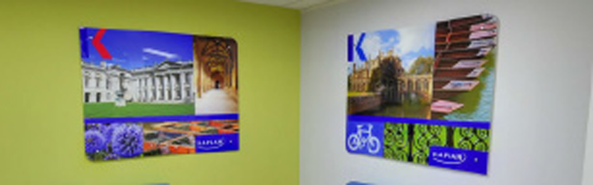 Kaplan - Interior graphics